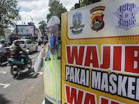 Pemerintah Bahas Kampanye Penggunaan Masker untuk Masyarakat