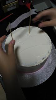 Home Made Cake Decorating