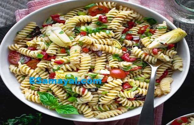 இத்தாலியன் பாஸ்தா செய்வது | Italian Pasta Recipe !