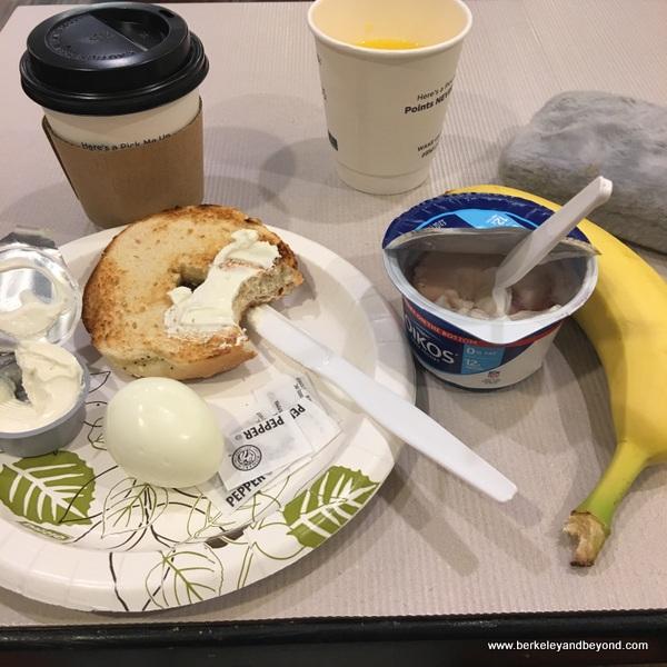 breakfast at Best Western Bishop Lodge in Bishop, California