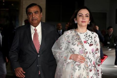 mukesh ambani and neeta ambani