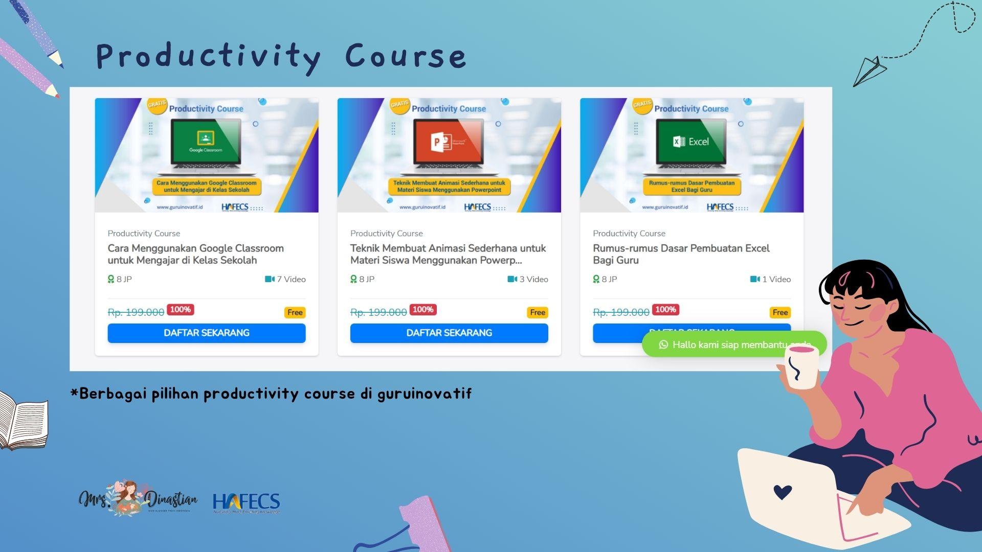 productivity course guruinovatif