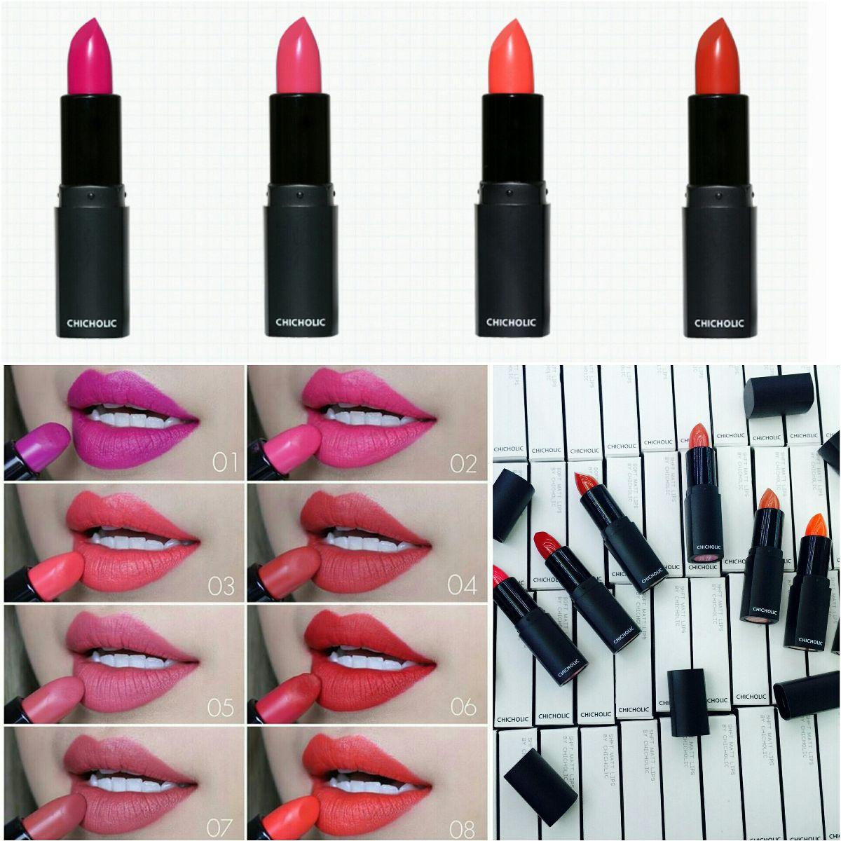 Chicholic Soft Matte Lipstick