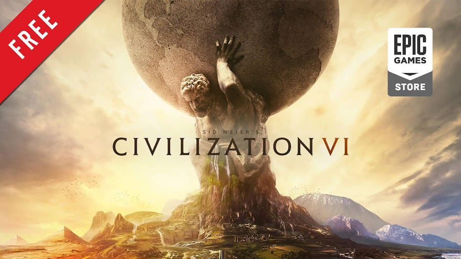 sid meier's civilization 6 free pc game epic games store 2016 turn-based strategy game firaxis games 2K games