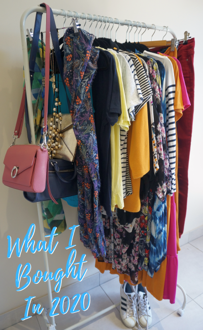 waht i bought in 2020 fashion spend and budget and goals for 2021 | away from the blue blog