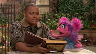 Chris, Abby Cadabby, Sesame Street Episode 4315 Abby Thinks Oscar is a Prince season 43