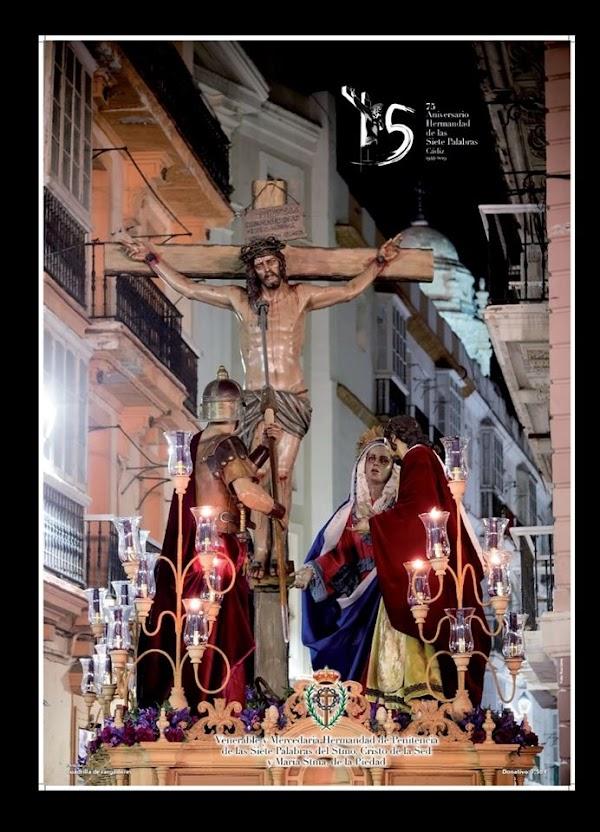 Cartel Anunciador de la Salida Extraordinaria de La Siete Palabras de Cádiz del 31 de Agosto