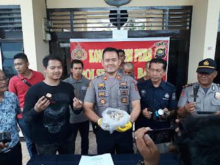 Tiga Orang Pencuri Sarang Walet Berhasil Dilumpuhkan Dengan Timah Panas Oleh Unit Reskrim Polsek Kotabaru