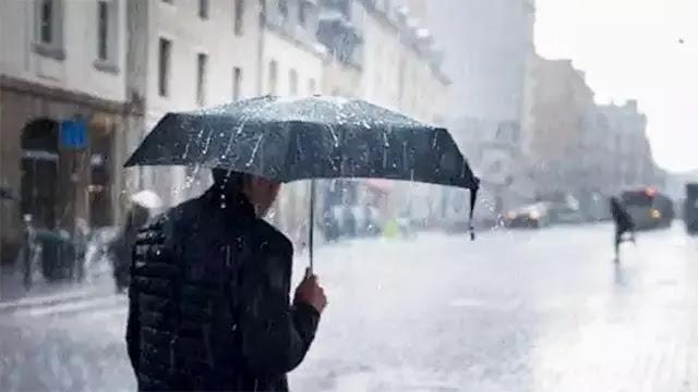 حالة الطقس: زخات مطرية رعدية ستعرفها عدة مناطق اليوم