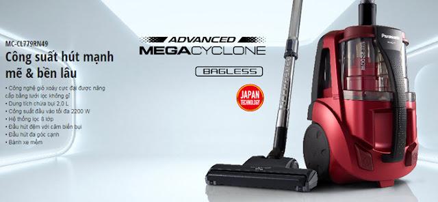 Máy hút bụi Panasonic MC-CL779RN49
