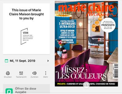VÖBB - Marie Claire Maison