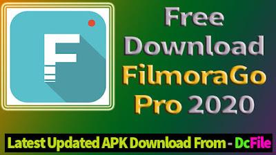 Download Filmorago Pro APK 2020