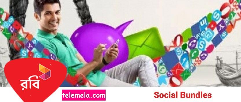 Robi 100MB Free Social Bundle Internet Offer