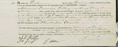 Geboorteakte Hendrikus Cornelis Welling