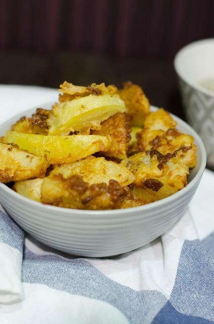 receta de las patatas rebozadas con ajo4
