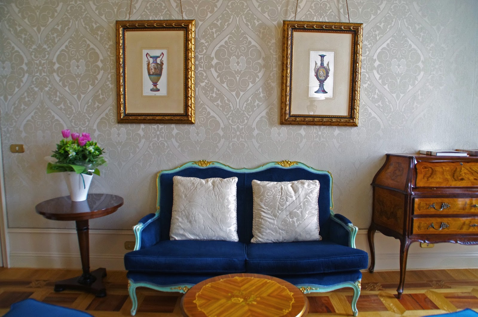 Westin Europa & Regina Venice lounge