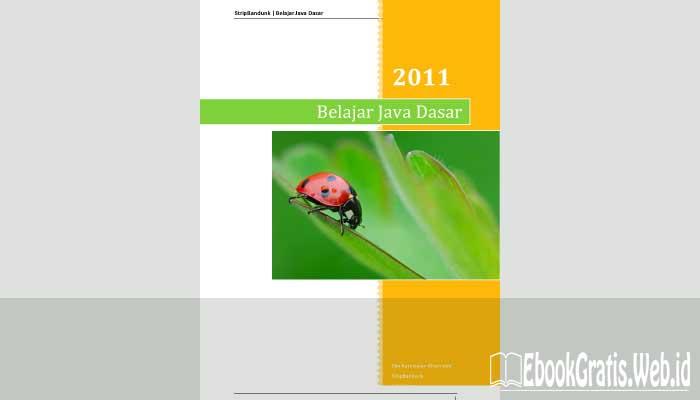Ebook Belajar Java Dasar