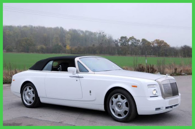 Rolls Royce Drophead Coupe of P Diddy