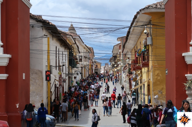 Ayacucho, Alameda de Santa Clara