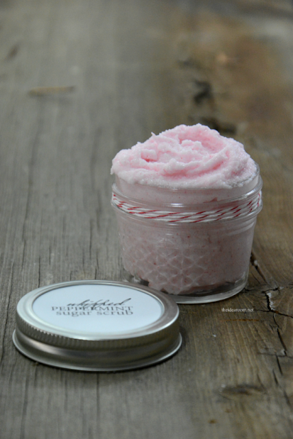 whipped peppermint sugar scrub recipe