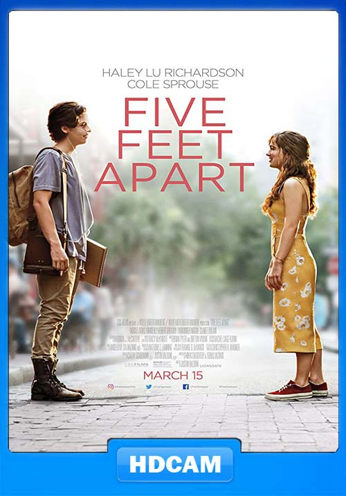 Five Feet Apart 2019 English 720p HDCAM X264 | 480p 300MB | 100MB HEVC