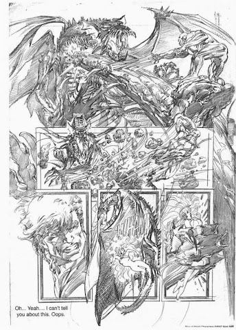 Sample page 3 of Neal Adams 2007 Sketchbook Convention Exclusive