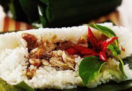 Gambar Nasi Bakar Ayam Pedas