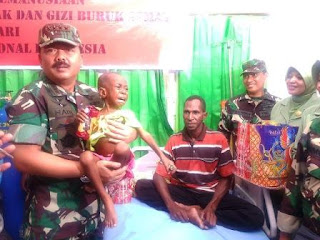 Panglima TNI : KLB Campak di Asmat Selesai, Satgaskes TNI Lanjutkan Pelayanan Medis