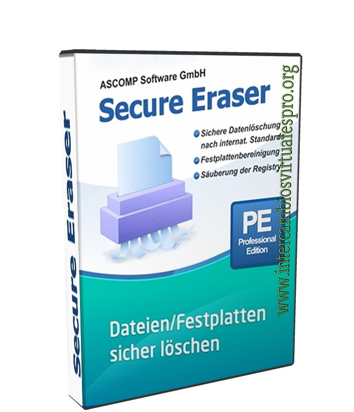Secure Eraser Professional Edition 5.001 Retail poster box cover