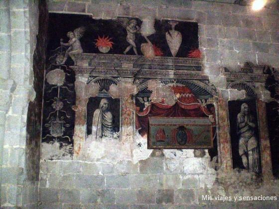 Murales, Catedral de Santa María de Urgell, Cataluña