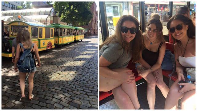 Cologne city tour train