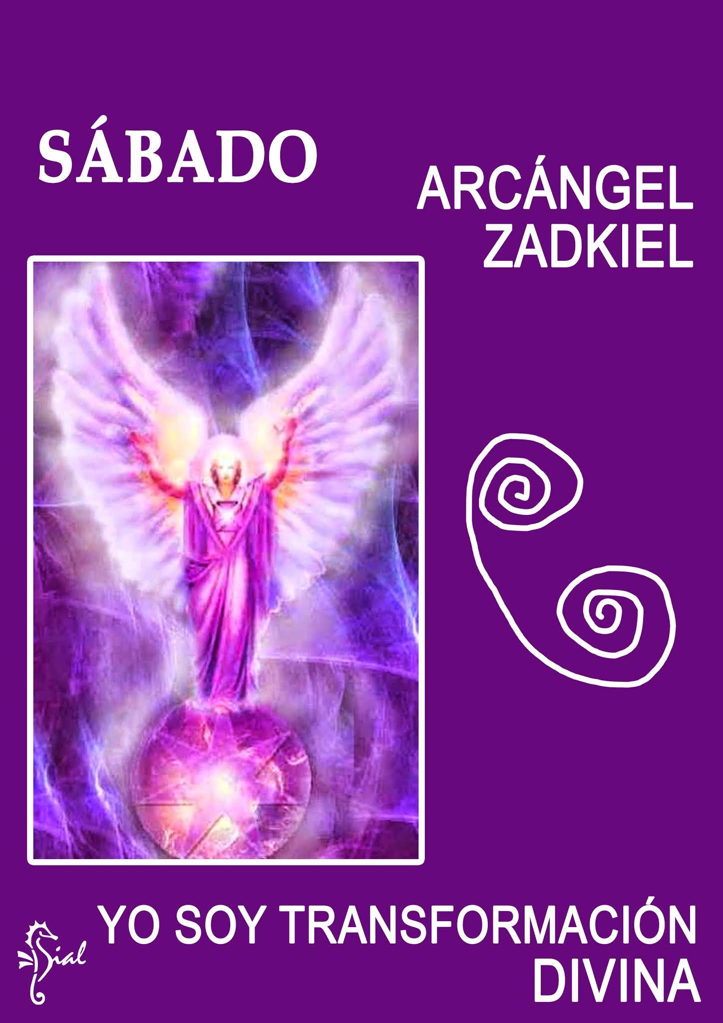 Arcángel Zadkiel - ángeles de la transmutación