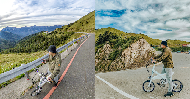 imiro 電動自行車,遊歷戶外,爬山