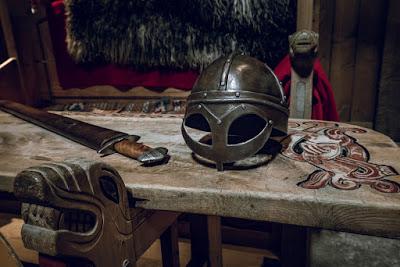 Exhibición vikings en uno de los mejores museos de Reikiavik