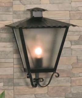 lampara de calle rustica forja