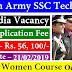 Indian Army Recruitment भारतीय सेना भर्ती 2019 Indian Army  53rd SSC (Men) & 24th SSC (Women)