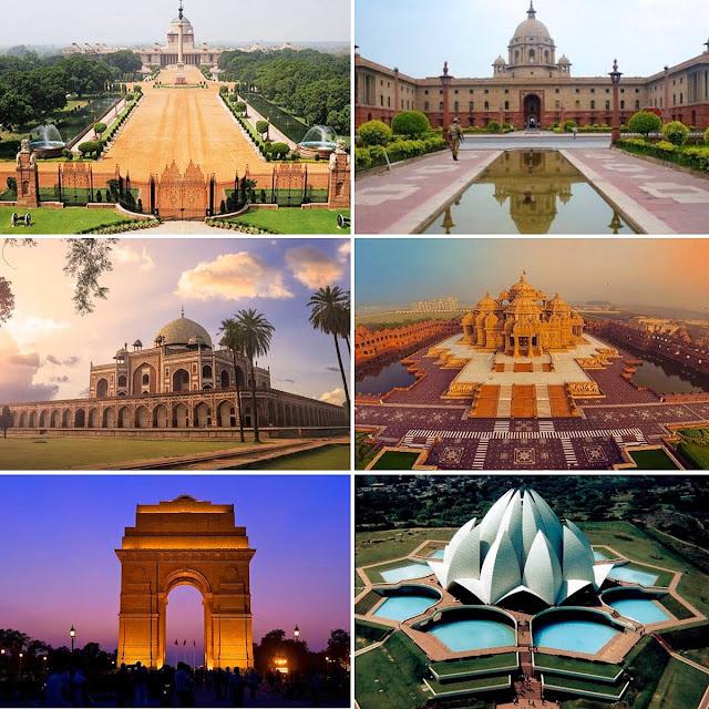 भारत की राजधानी दिल्ली