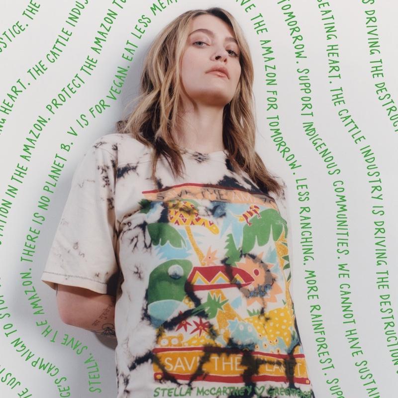 Paris Jackson stars in Stella McCartney x Greenpeace campaign.