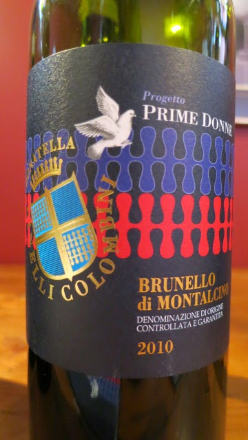 "2010 Donatella Cinelli Colombini Brunello di Montalcino ""Prime Donne"" from DOCG, Tuscany, Italy (92 pts)"