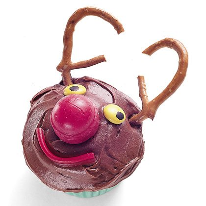Rudolph the Red-nosed Cupcake Recipe
