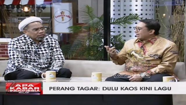 Baru Sehari Jadi Jubir Pemerintah, Mochtar Ngabalin Sudah Speechless di-Smash Fadli Zon