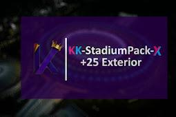 KK-Stadium Pack 2020 (25 Exterior) - PES 2017