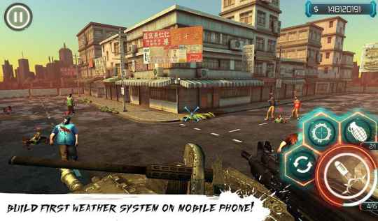 Game Tembak Zombie Offline Android Zombie Reaper 3 MOD APK