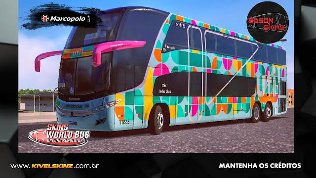 PARADISO G7 1800 DD 6X2 - VIAÇÃO UTIL RETRÔ