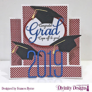 Divinity Designs Stamp Set: Dream Big, Custom Dies: Center Step Card, Center Step Layers, Grad, Ovals, Scalloped Ovals, Long & Lean Numbers, Paper Collection: Old Glory