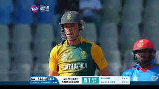 29-runs Record Over for South Africa | AB de Villiers 29 vs Rashid Khan Highlights