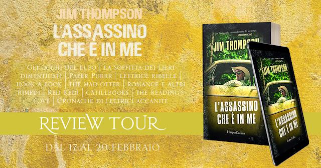 Review Party - L'assassino che è in me, Jim Thompson