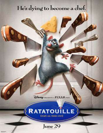 Ratatouille 2007 Hindi Dual Audio BRRip Full Movie Download