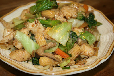 Spicy Chicken and Vegetable Stir Fry