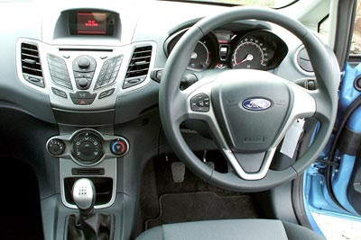 The World Sports Cars Ford Fiesta Interior